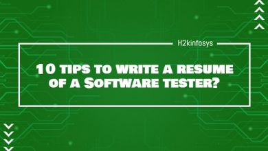 Photo of 10 tips to write a resume of a Software tester?