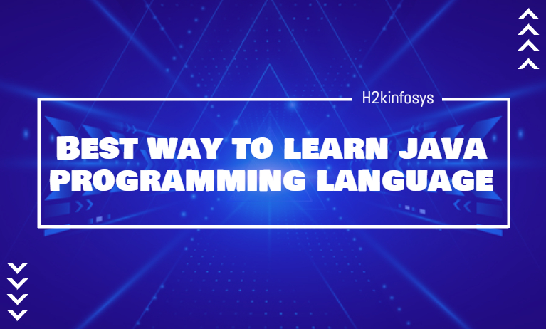 Best Way to Learn Java Programming Language