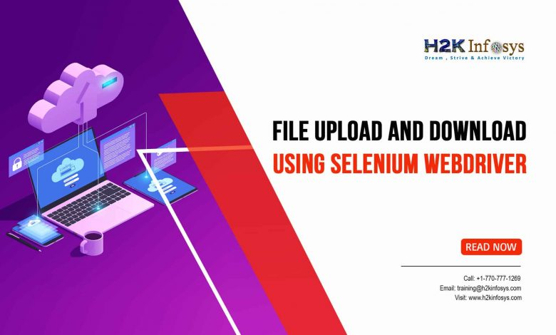 File Upload and Download using Selenium Webdriver