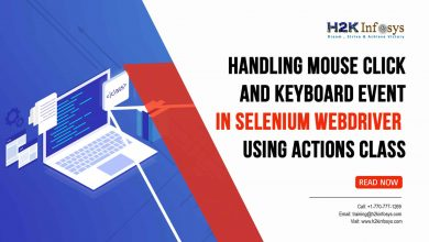Photo of Handling Mouse Click and Keyboard Event in Selenium Webdriver using Actions Class