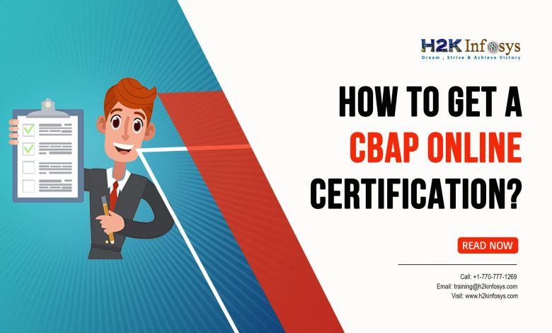 How to Get a CBAP Online Certification