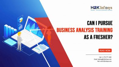 Photo of Can I Pursue Business Analysis Training as a Fresher?