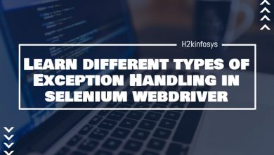 Photo of Different Types of Exception Handling in Selenium Webdriver