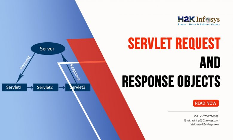 Servlet Request and Response objects