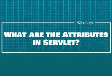 Photo of What are the Attributes in Servlet?