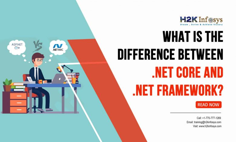 What is the Difference Between .NET Core and .NET Framework