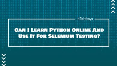 Photo of Can I Learn Python Online to Use It For Selenium Testing?