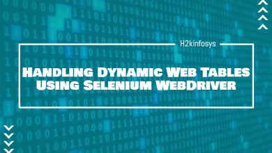 Photo of Handling Dynamic Web Tables Using Selenium WebDriver
