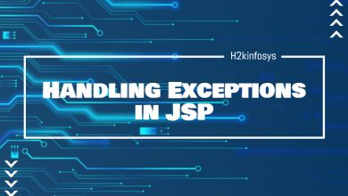 Photo of Handling Exceptions in JSP