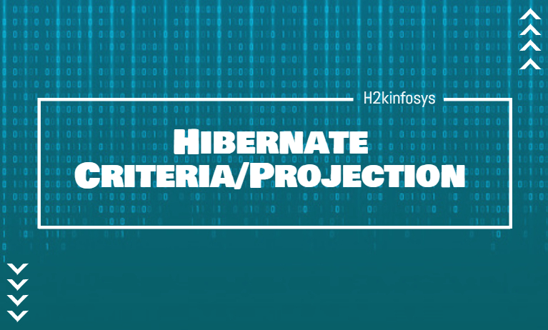 Hibernate Criteria Projection