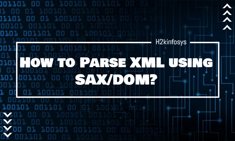 How to Parse XML using SAX-DOM