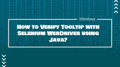 Photo of How to Verify Tooltip with Selenium WebDriver using Java