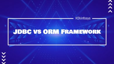 Photo of JDBC vs ORM Framework