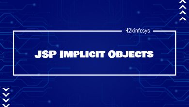 Photo of JSP Implicit Objects