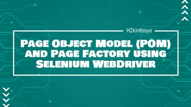 Photo of Page Object Model (POM) and Page Factory using Selenium WebDriver