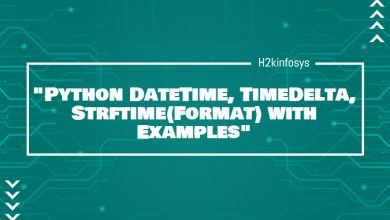 Photo of Python DateTime, TimeDelta, Strftime(Format) with Examples