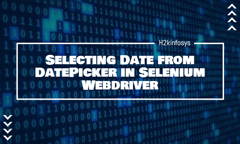 Selecting Date from DatePicker in Selenium Webdriver