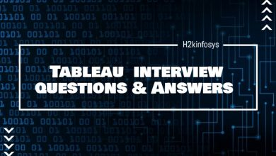 Photo of Tableau Interview Questions and Answers