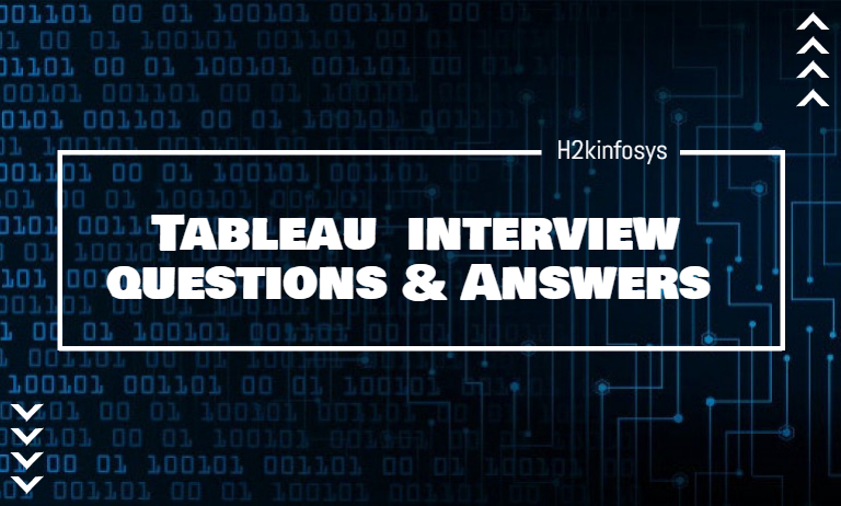 Tableau Interview Questions and Answers