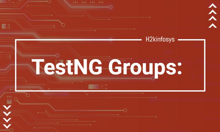 TestNG-Groups