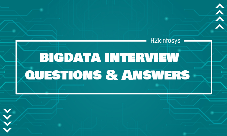 Big Data Interview Questions and Answers
