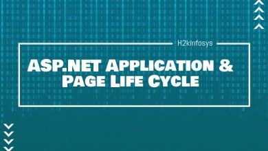 Photo of ASP.NET Application & Page Life Cycle