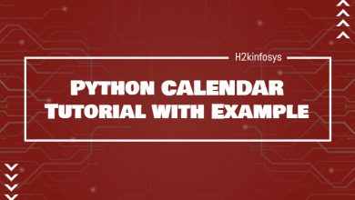 Photo of Python CALENDAR Tutorial with Example