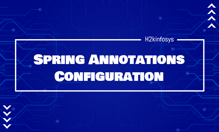Spring Annotations Configuration