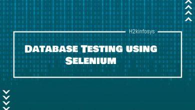 Photo of Database Testing using Selenium