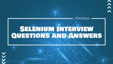 Photo of Selenium Interview Questions and Answers