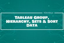 Photo of Tableau Group, Hierarchy, Sets & Sort Data