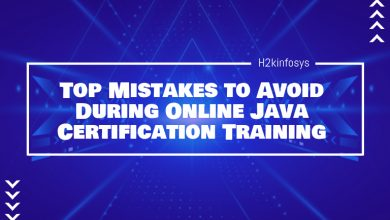 Photo of Top Mistakes to Avoid During Online Java Certification Training