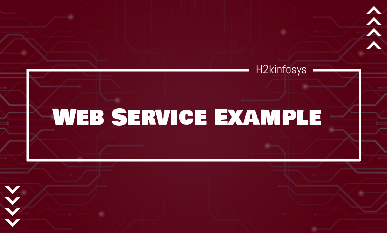 Web Service Example