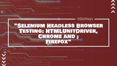 Photo of Selenium Headless Browser Testing