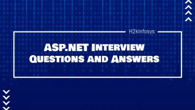 Photo of ASP.NET Interview Questions and Answers