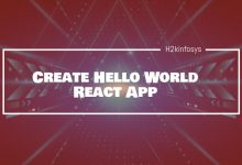 Photo of Create Hello World React App