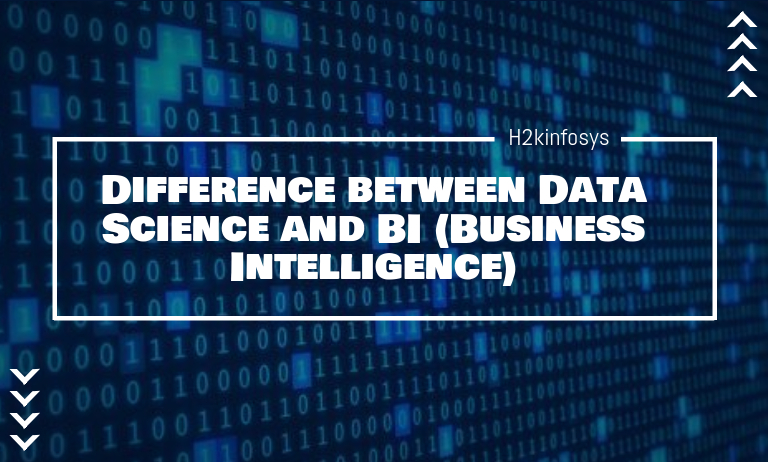 differences between Data Science and BI