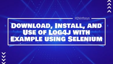 Photo of Download, Install, and Use of Log4j  with Example using Selenium