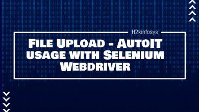 Photo of File Upload – AutoIT usage with Selenium Webdriver