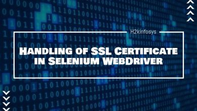 Photo of Handling of SSL Certificates in Selenium WebDriver