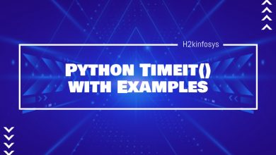 Photo of Python Timeit() with Examples