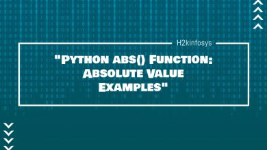 Photo of Python abs() Function