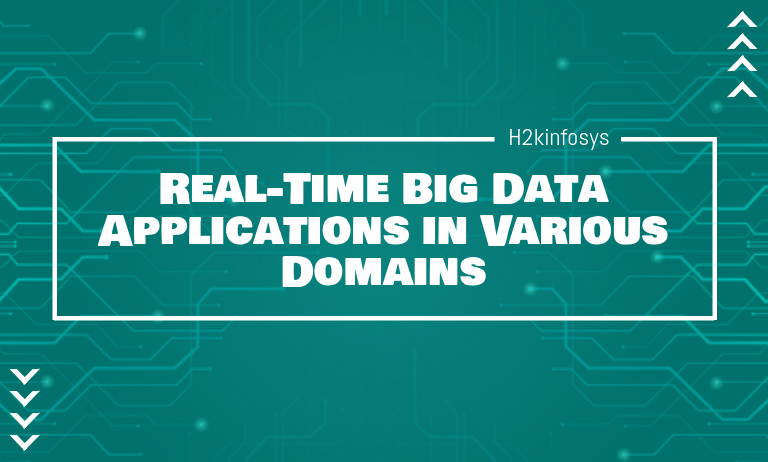 Real-Time Big Data Applications in Various Domains