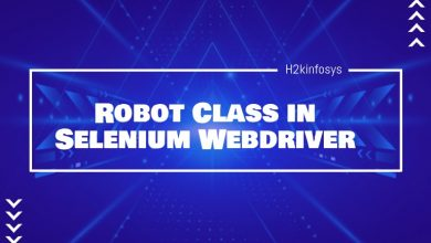 Photo of Robot Class in Selenium Webdriver