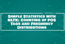 Photo of Simple Statistics with NLTK: Counting of POS Tags and Frequency Distributions