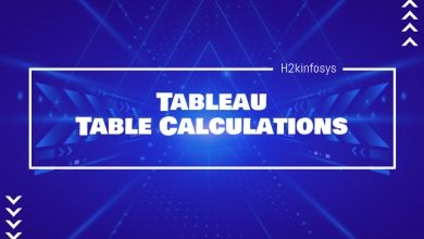 Photo of Tableau Table Calculations