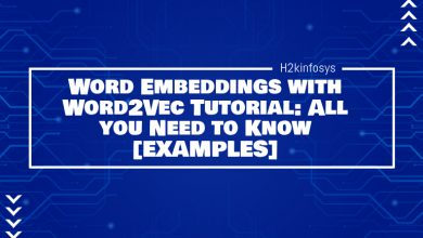 Photo of Word Embeddings with Word2Vec Tutorial: All you Need to Know