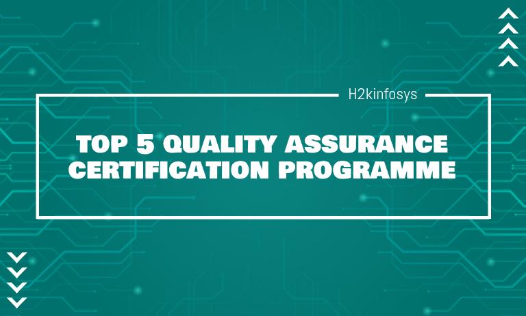 quality assurance certification programme