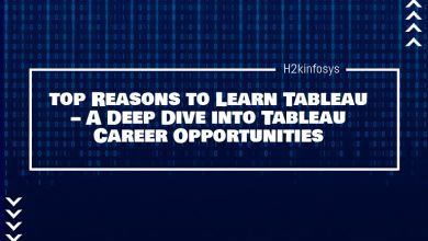 Photo of Top Reasons to Learn Tableau – A Deep Dive into Tableau Career Opportunities