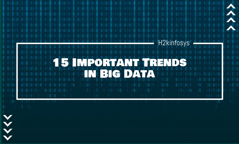 15 Important Trends in Big Data